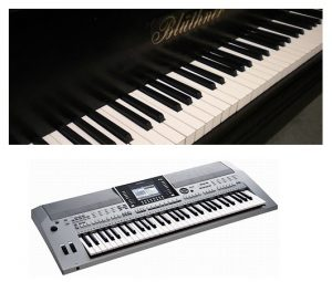 Difference Between The Piano And Keyboard